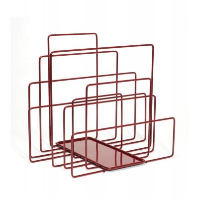Zeitschriftenhalter Random | Rot