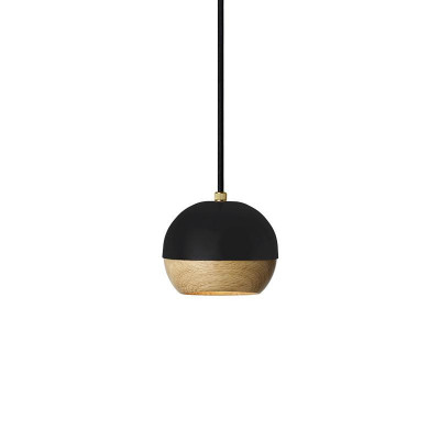 Pendel-Lampe Ray S | Schwarz