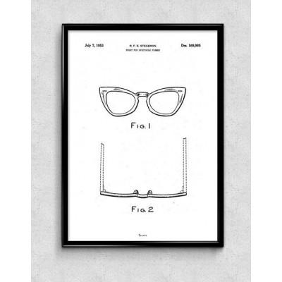 Print   Ray Ban Glasses