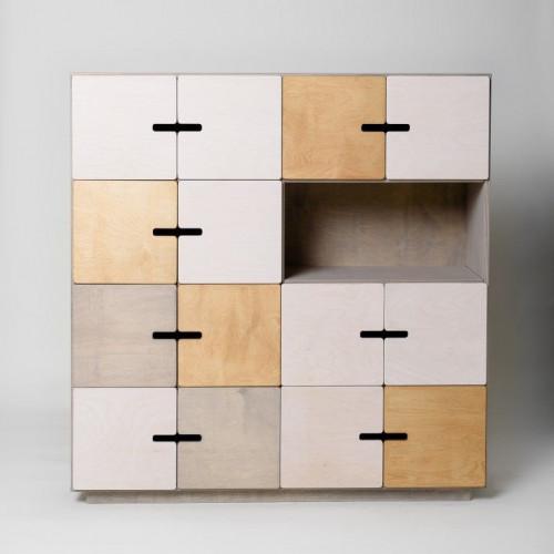 Sideboard PIX   Pebble Grey, White & Oak Oilwaxed