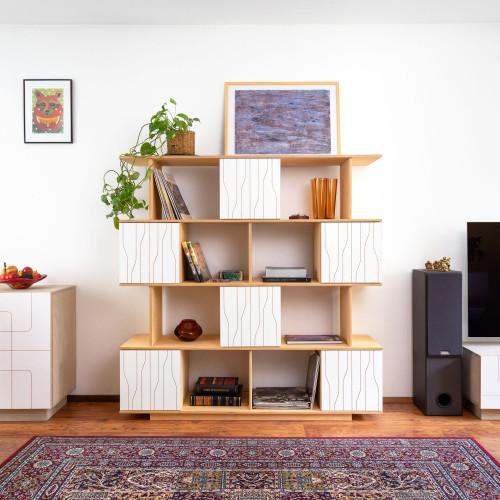 Shelf PIX 150 cm 4 levels
