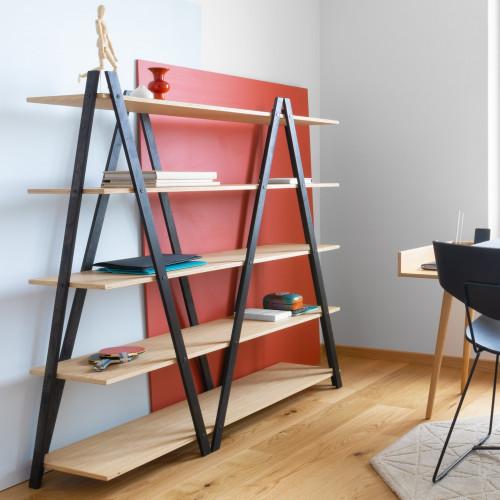 Shelf SIK-SAK | Black/Oak