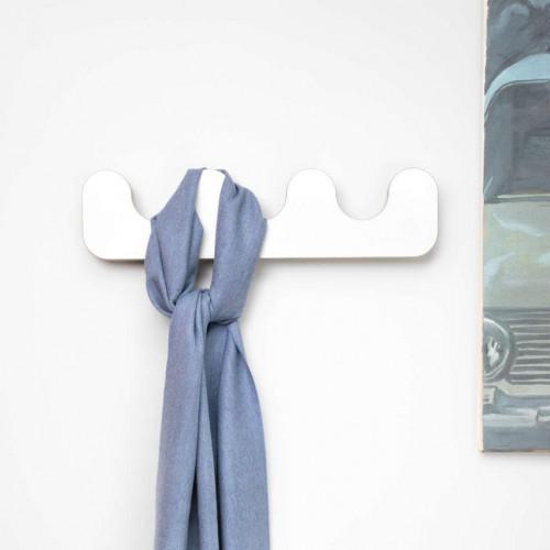 Wall Rack Drift | White