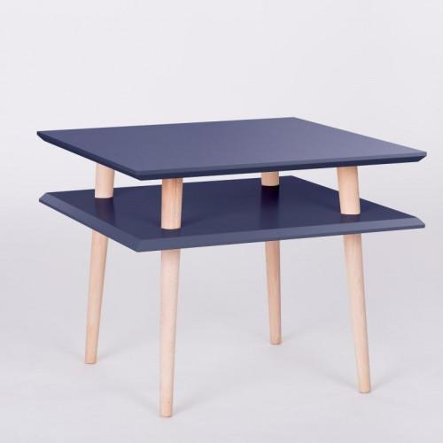 UFO Square Table   Graphite