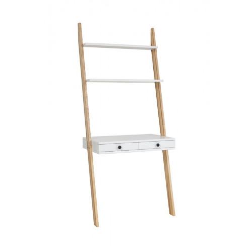 Leiter Regal Schreibtisch | Weiß