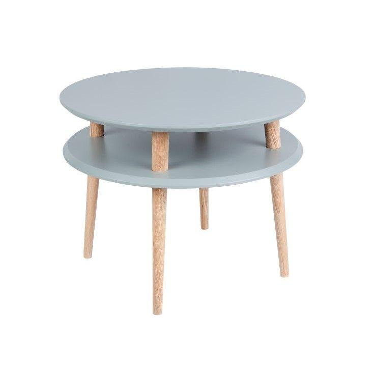Round Coffee Table UFO | Dark Grey