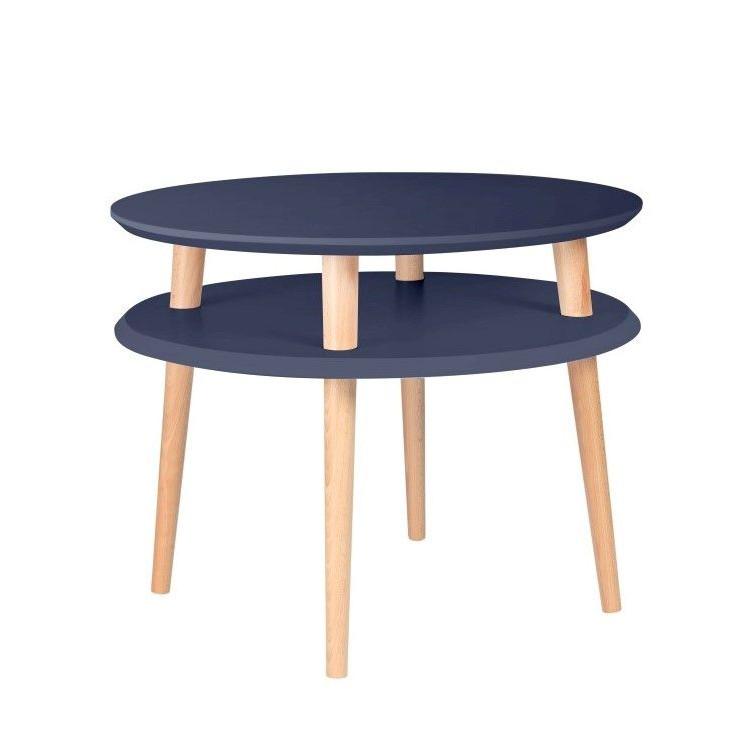 Round Coffee Table UFO   Graphite