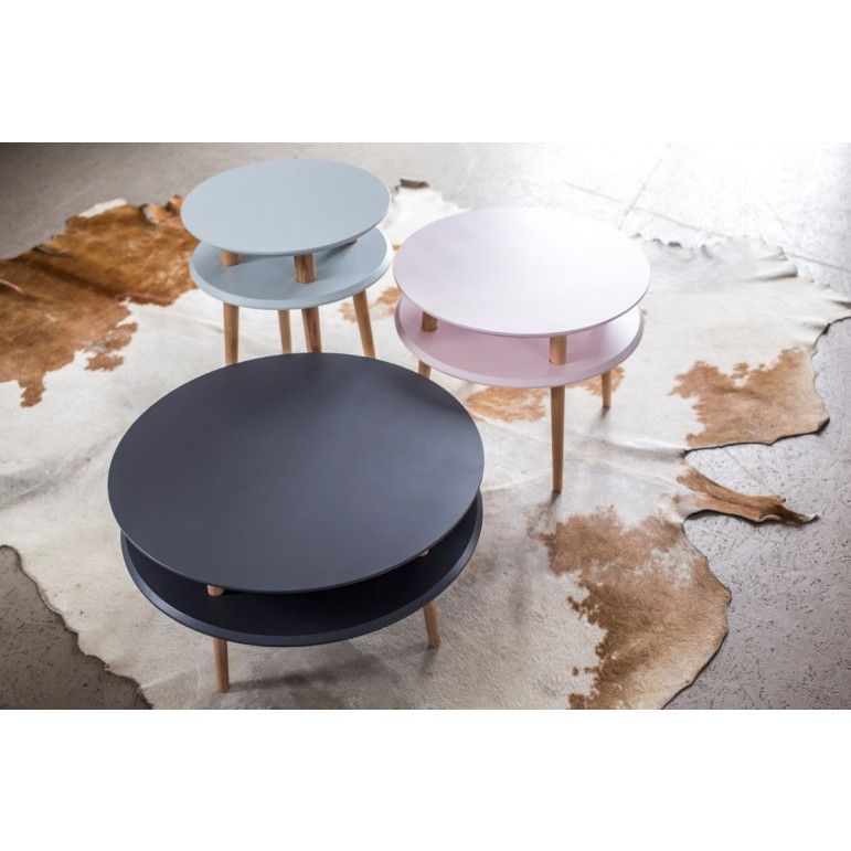 UFO Round Coffee Table   Orange