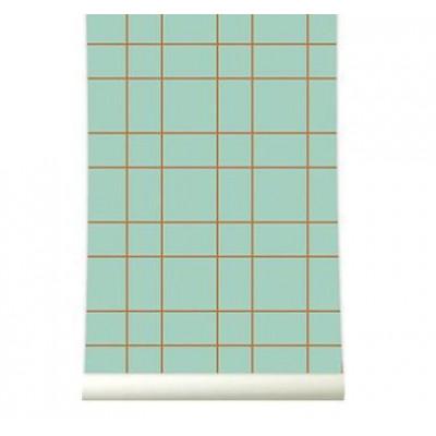 Wallpaper | Grid Pastelgreen