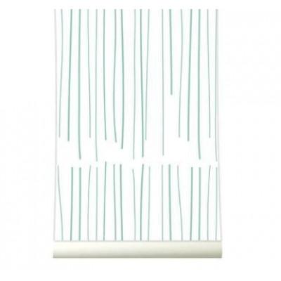 Wallpaper | Rain Pastelgreen