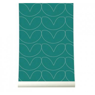 Wallpaper | Hearts Green