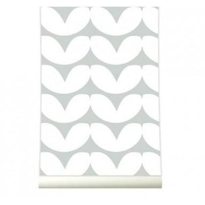 Wallpaper | Hearts Grey