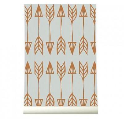 Wallpaper | Arrows Coppergrey