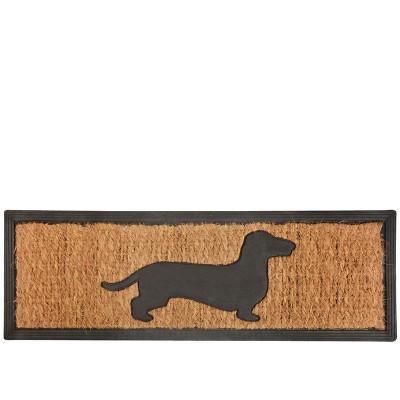 Doormat Rubber/Coconut   Teckel