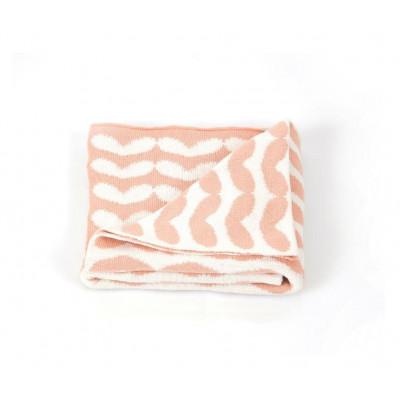 Blanket | Hearts Pink