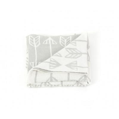 Blanket | Arrows Grey