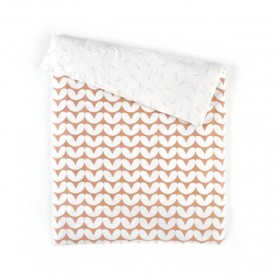 Duvet Cover | Hearts Pink