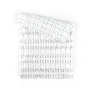 Duvet Cover | Arrows Grey