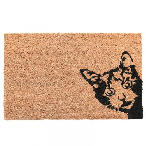 Fußabtreter Kokosnuss   Cat Peek-A-Boo
