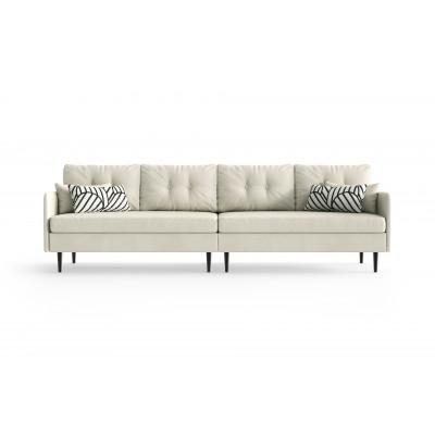 4-Sitzer-Sofa Memphis | Weiß