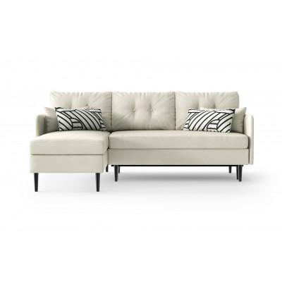 Sofabett Linke Ecke Memphis | Weiß
