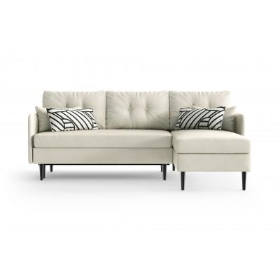 Sofabett Rechts Memphis | Weiß