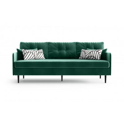 3-Sitzer-Sofa Memphis | Smaragdgrün