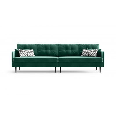 4-Sitzer-Sofa Memphis | Smaragdgrün