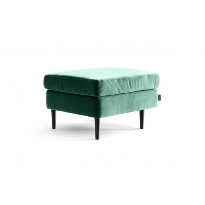 Ottomane Pouf Memphis | Smaragdgrün