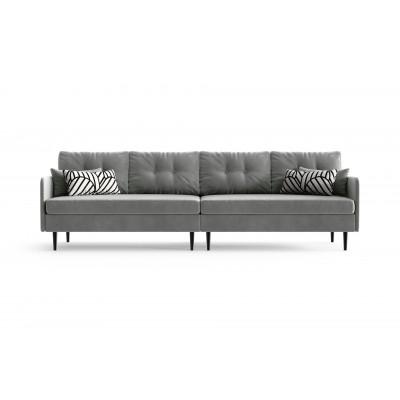 4-Sitzer-Sofa Memphis | Grau