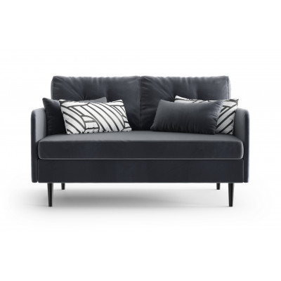 2-Sitzer-Sofa Memphis | Anthrazit