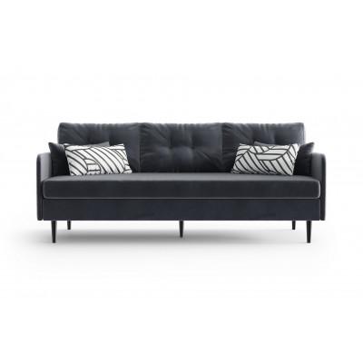 3-Sitzer-Sofa Memphis | Anthrazit