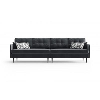 4-Sitzer-Sofa Memphis | Anthrazit