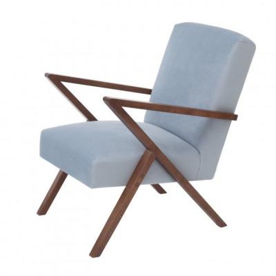 Retrostar© Chair Velvet Line | Ice Grey
