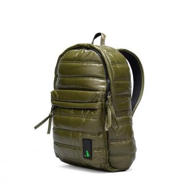 RC1 Gesteppter Rucksack Olivgrün