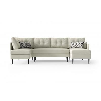 Sofabett Panorma Memphis Links | Weiß