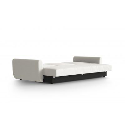 3 Sitzer Schlafsofa Sowden | Weiß