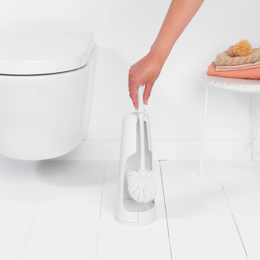 Toilettenbürste & Halter ReNew   Weiß