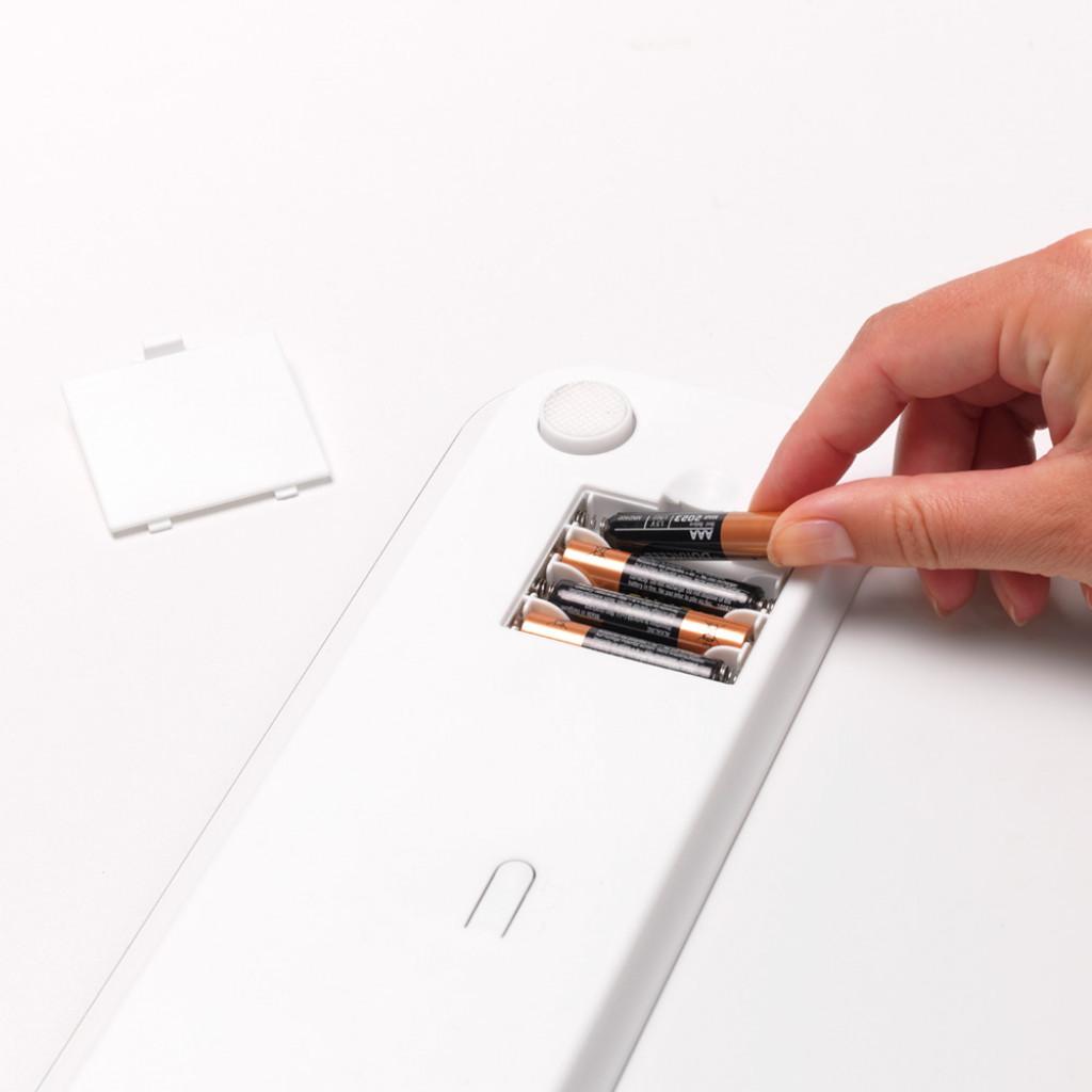 Digitale Waagen batteriebetrieben ReNew | Weiß
