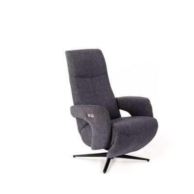 Motorisierter 2-Motor-Sessel | Dunkelgrau