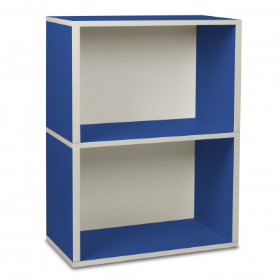 Aufbewahrungs-Rechteck-Box 2 Blau