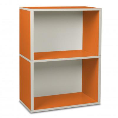 Aufbewahrungs-Rechteck-Box 2 Orange