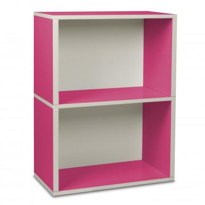 Aufbewahrungs-Rechteck-Box 2 Rosa