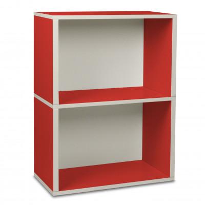 Aufbewahrungs-Rechteck-Box 2 Rot