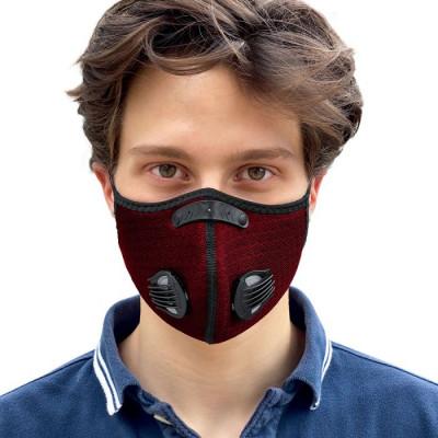 Gesichtsmaske Breezy | Rot