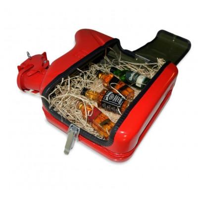 Jerrycan-Whiskey-Verkostungsset/Lunchbox | Rot
