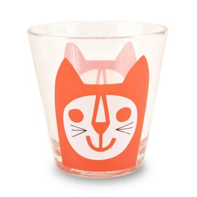 Glasses Red Cat | Set of 6