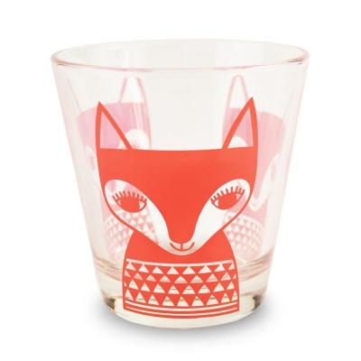 Glasses Red Fox | Set of 6
