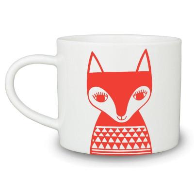 Mugs Red Fox | Set of 6