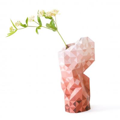 Paper Vase Cover | Red Gradient
